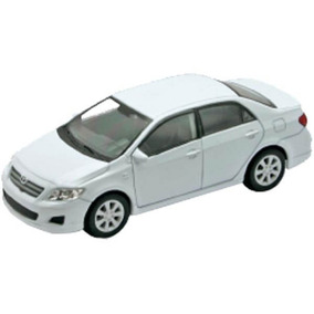 Miniatura Toyota Corolla Nex Models Welly 1/60 - Branco 2010