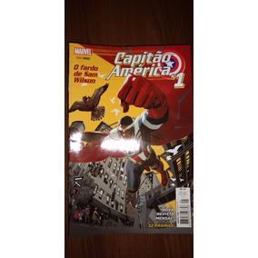 Hq Capitão América Completo 20 Volumes Panini