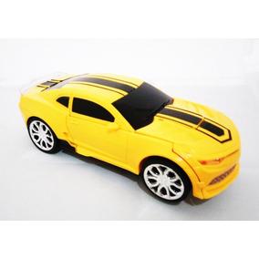Carrinho Camaro Vira Robô Luz Som Transformers ;)