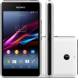 Smartphone Sony Xperia E1 D2104 4gb 3g Branco Vitrine Tipo A