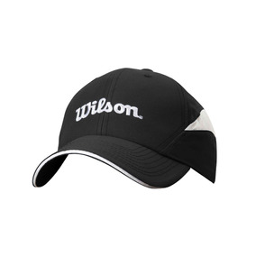 Gorra Masculina Wilson - Bone Ultra Negro blanco - Tenis por Wilson 8cb90c57d8e