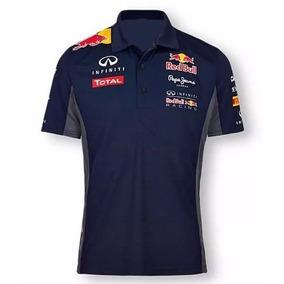 Camisa Camiseta Polo Formula 1 F1 Red Bull Corrida 6183ab8115d
