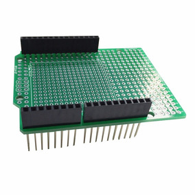 Pcb Ilhada Shield Arduino Uno R 3prototipação Conectores