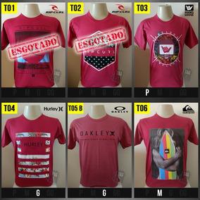 Kit 4 Camisa Camiseta Surf Quik Rip Hurley Oakley Hangbillab 984516d2b49