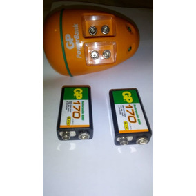 Cargador Gp 9v Con Baterias Recargables Incluidas