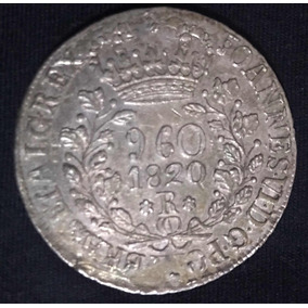 Moeda Prata 960 Réis - 1820r