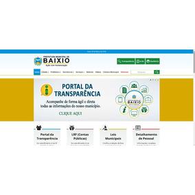 Site Para Prefeituras E Responsivo - Transparência Nota 10