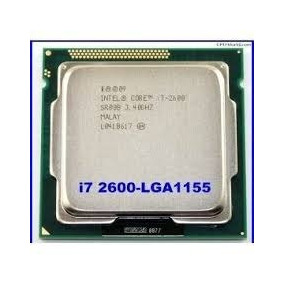 Processador Core I7 2600 Lga 1155 2a Geraçao Frete Gratis