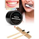 Kit 1 Branqueador Dentes+ 2 Escovas Bambu - Promoção!