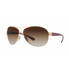 045688c5e4776 Oculos Ray Ban 3386 Dourado - Óculos no Mercado Livre Brasil