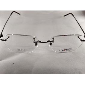 068f4ac4437f8 Armação De Oculos De Grau Sem Aro Embaixo Oval - Óculos no Mercado ...