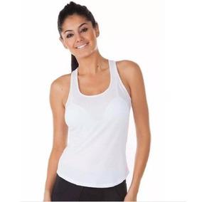 Camiseta Regata Feminina Em Dry Fit Furadinha Promoção 5e9605fc15211