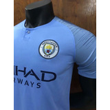 Camisa Manchester City Home 2018 Nike Original/ Sem N°