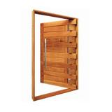 Porta Pivotante Passione - 2,10m X 1,10m - Madeira Maciça