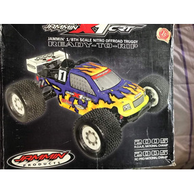 Camioneta Truggy Xr1 Jasmmin Carritos De Gasolina