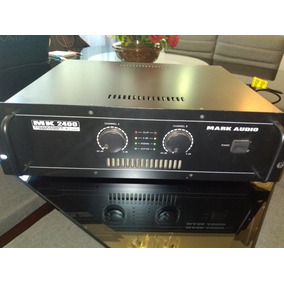 Amplificador Mark Audio 2400 - 400w