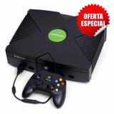 Xbox Clasic Con Chip Y 2 Controles+ De 400 Juegos Incluidos