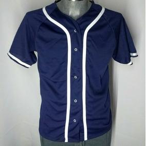 Jersey Casaca De Beisbol Baseball Azul G Lisa Envio Gratis 699359fe52ece