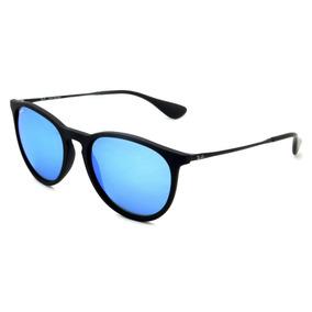 Óculos Ray-ban Rb4171 Erika Original Preto Azul Espelhado 17bb80a0c6