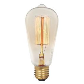 Lâmpada Retro Filamento De Carbono Edison Vintage 40w *