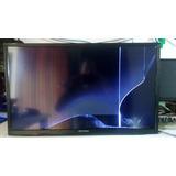 Tv Hbuster 32 Com Tela Quebrada.