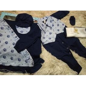 Lote 10 Kits Saída Maternidade P Bebe Menina Ou Menino