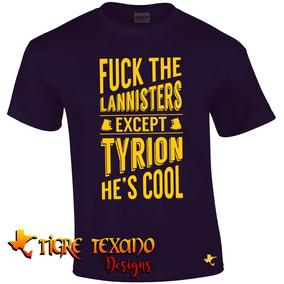 Playera Game Of Thrones Mod. 14 By Tigre Texano Designs