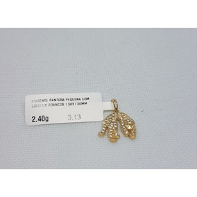 4abe5ccbae418 Pingente Ouro 18k Pantera - Joias e Bijuterias no Mercado Livre Brasil