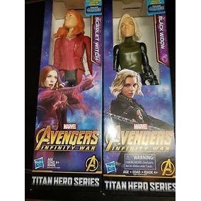 Marvel Infinite Wars Series Black Widow E Scarlet Witch 25cm