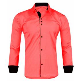 Camisa Slim Fit - Camisa Social Manga Longa Masculino no Mercado ... 1e274ce3c12a3