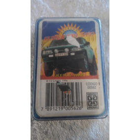 Super Trunfo Grow 00562 Jeeps E Vans Incompleto No Estado