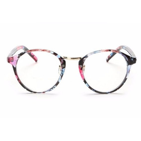 98e1a0263 Armacao Oculos Feminino Grau Acetato - Óculos Magenta no Mercado ...