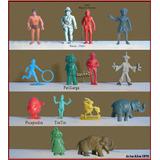 Dante42 Lote 14 Muñecos Miniaturas Variados Tarzan 1970
