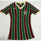 Camisa Fluminense Le Coq Sportif Reliquia Anos 80 De Jogo