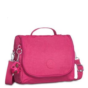 Lancheira New Kichirou Rosa Cerise Pink Kipling