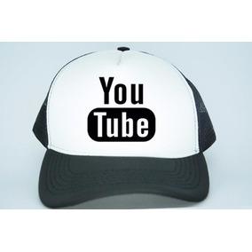Bone Youtube - Bonés para Masculino no Mercado Livre Brasil 5cab79e9fca