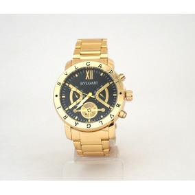 785a349699282 Relogio Bvlgari Dourado Masculino - Relógio Bvlgari Masculino no ...