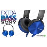 Vendo Audífonos Sony Xtra Bass Con Cable