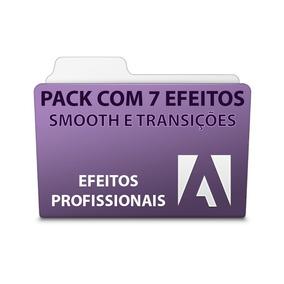 Pack 7 Efeitos Smooth E Transições - Adobe Premiere