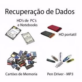 Recupere Seus Dados Do Pendrive Hd Ou Cartão De Memoria