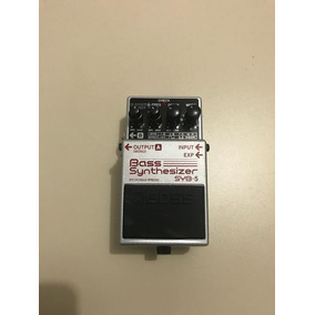 Pedal Bass Synthesizer Syb-5 Boss