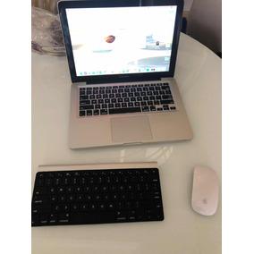 Macbook Pro 13 Core I5 Hd Ssd 500 Gb + Mouse E Teclado Apple
