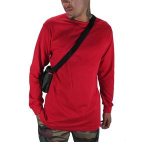 Camiseta Outlawz Longsleeve Featured Vermelha 66a5d1872e54d