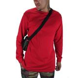 Camiseta Outlawz Longsleeve Featured Vermelha 4d24cf918c169