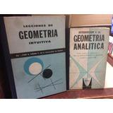 Dos Libros De Geometría De Juan A.viedma- Editorial Norma