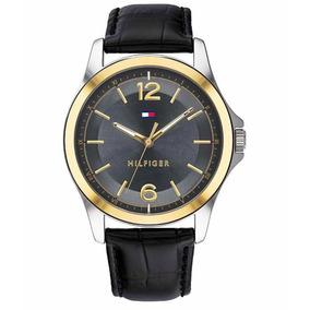 e1ce80327f2 Relogio Tommy Hilfiger Aco Preto Masculino - Relógios De Pulso no ...