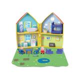 Juguete Casa Peppa Pig - Casa Con Figuras Y Accesorios
