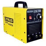 Inversor De Solda Mma+tig Ltig-200 Lynus 220v 00004831.9