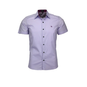 Camisa Amil Fox Tecido Liso Algodão Sem Bolso Lançamento Lux
