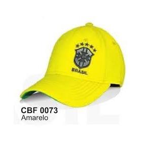 fcd7147d3a Bone Da Seleção Brasileira Oficial - Acessórios da Moda no Mercado ...